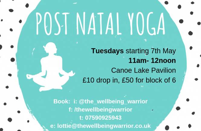 post natal yoga hampshire